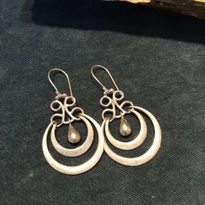 Mexican Made Sterling Silver Earrings